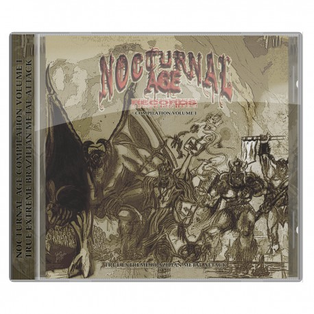 NOCTURNAL AGE COMPILATION VOL 1: True Extreme Brazilian Metal Attack